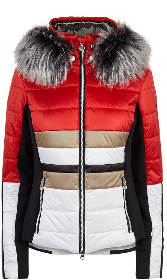 Sportalm Colour Block Recco Ski Jacket. Ski jacket fashions. I'm an affiliate marketer. When you click on a link or buy from the retailer, I earn a commission.