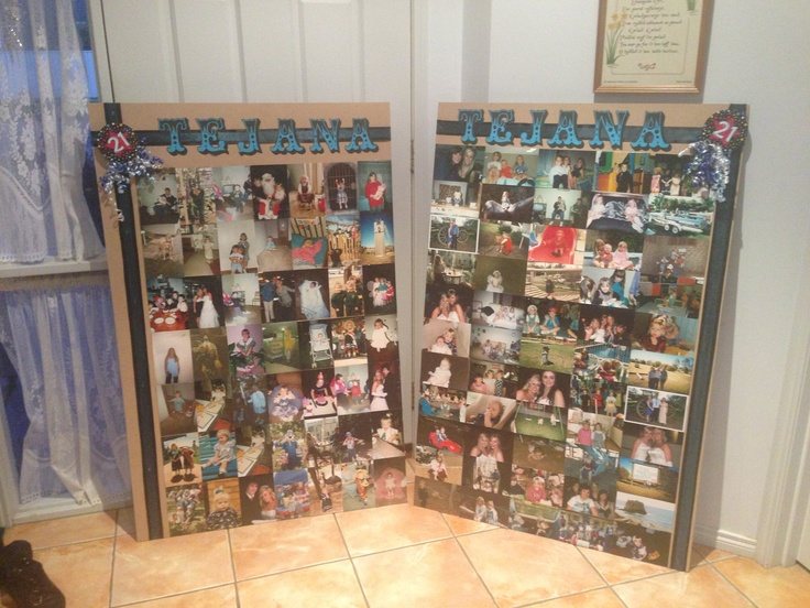 9 Best Images About 21st Photo Board Ideas On Pinterest