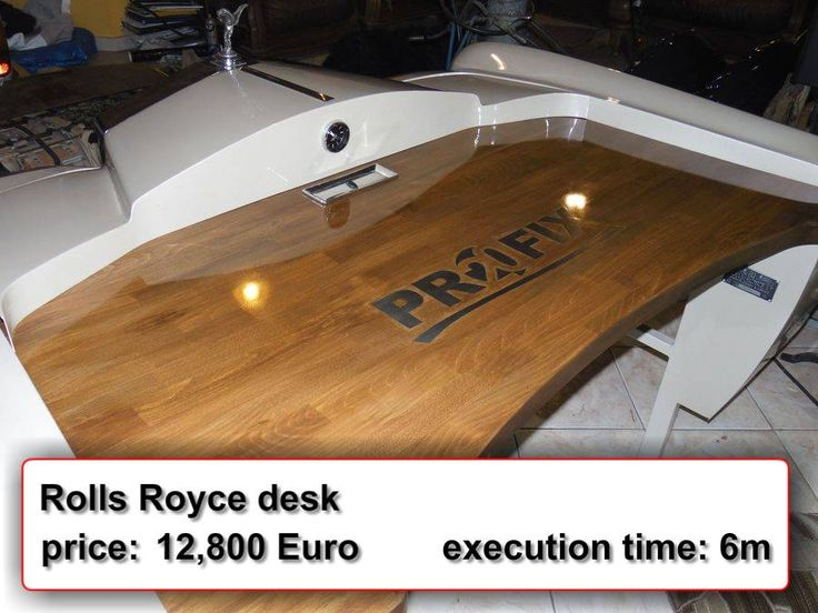 Rolls Royce Desk