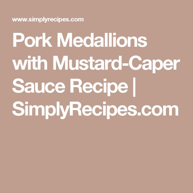 17 Best ideas about Pork Medallions on Pinterest | Grilled ...