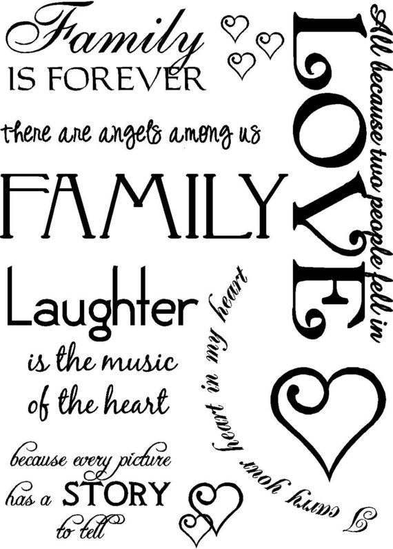 Picture Frame Wall Words Vinyl Lettering by VisionsInVinyl, $23.00