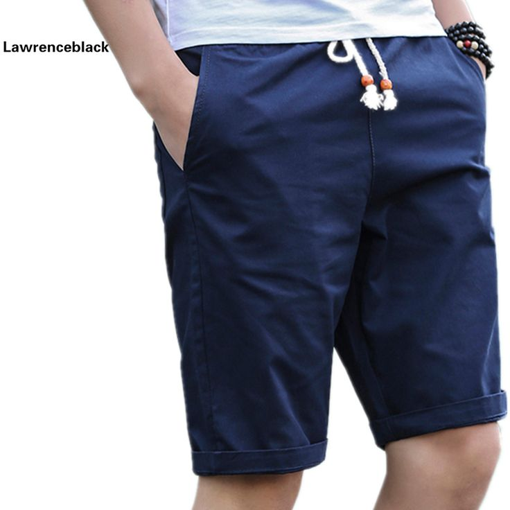 Pantalones Cortos de Algodón Hombres de La Marca de Moda Bañadores Masculinos Respirables del verano Cortocircuitos Ocasionales Cómodos Más El Tamaño Fresco Corto Masculino 208