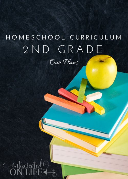 Our plans for Homeschool Curriculum for 2nd Grade