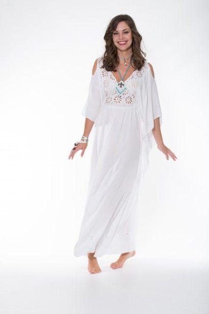 Ladli Australia Margarita Dress Maxi – White