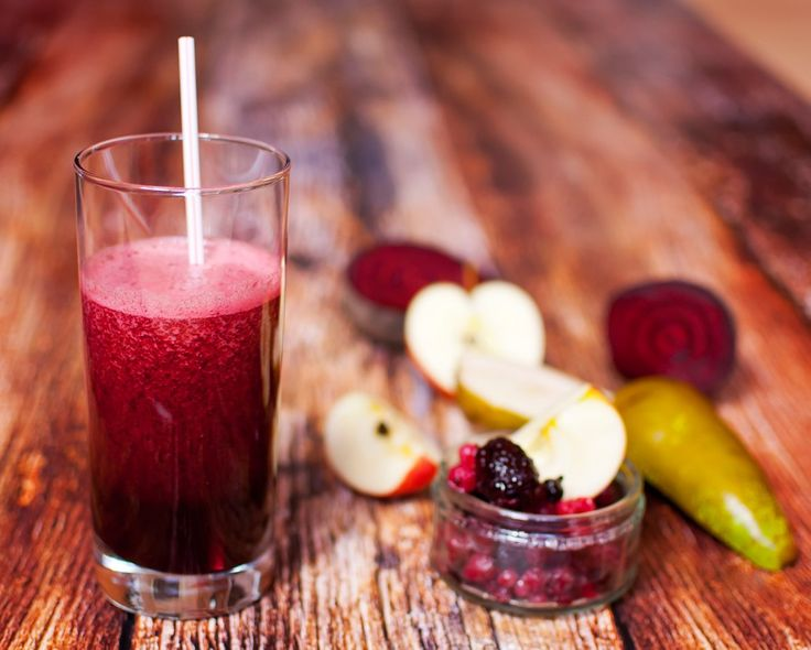 healthy juice made of freshly juiced fruits and vegetables