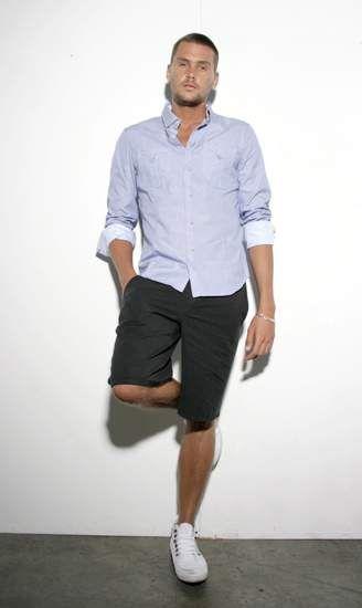 35 best images about Men's fashion on Pinterest | Bermudas, Summer ...