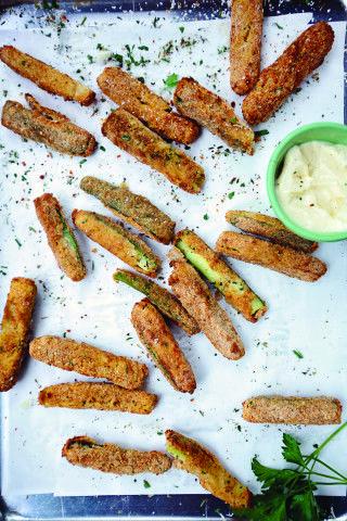 Air Fried Zucchini Fries