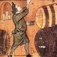 Vino e birra a fiumi durante il Medioevo A differenza di quanto in molti sarebbero portati a pensare, gli uomini medievali furono tutt'altro che morigerati nel bere alcolici: birra e vino venivano consumati da persone di qualsiasi età tutti #vino #birra #medioevo #alcool