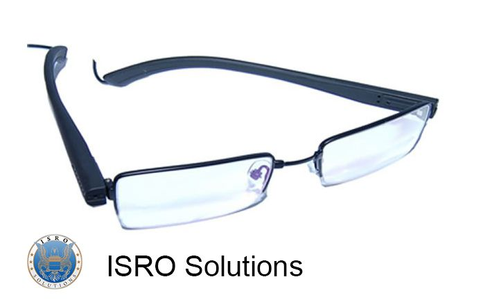 SG-10 Professional Eyeglasses with Video Camera ISR-D66  This is a profesional device that has a built-in video camera and it records in high definition.  The professional video camera glasses are designed for those who are working in the field of security and investigation, being a suitable device for undercover work. The lenses can be changed.  Learn how to use the spy glasses, right here: http://www.youtube.com/watch?v=b2qKkd2MwWQ