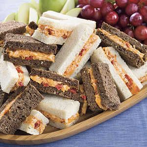 Hosting a spring baby shower, afternoon tea, or ladies' luncheon? Serve some of these five delicious finger sandwiches for a festive and filling celebration.