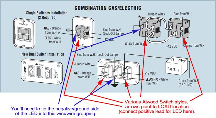 Atwood Water Heater Wiring Help Irv2 Forums Water Heater Rv Water Heater Rv Water