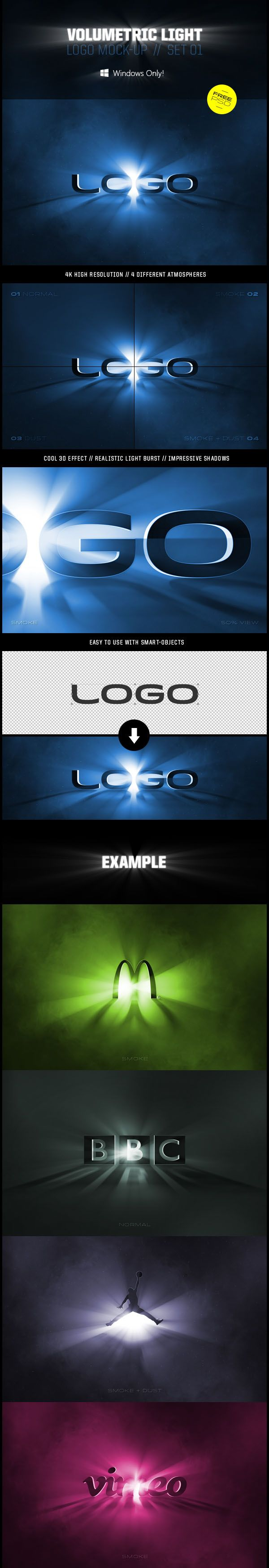 volumetric logo