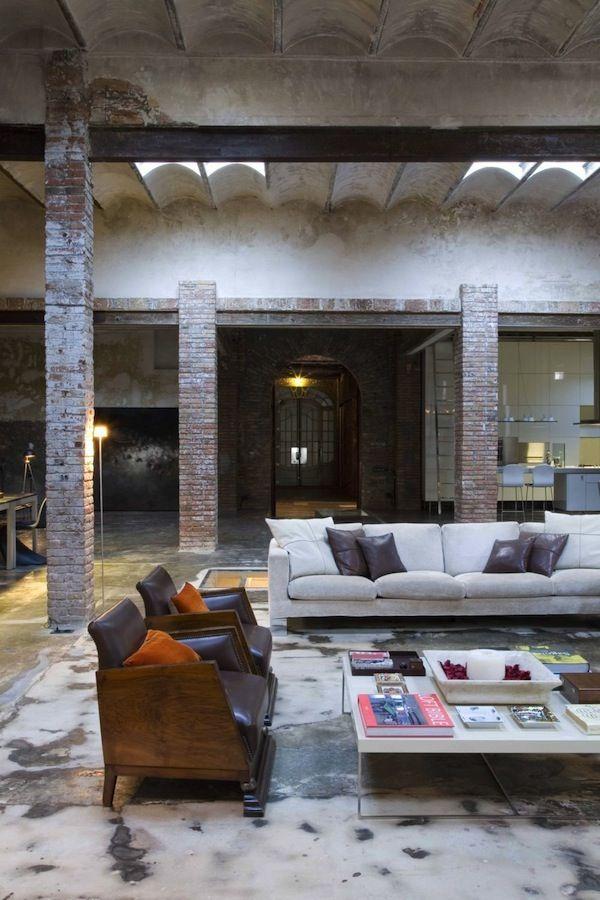 Barcelona Industrial Loft...this apartment isn't even fair