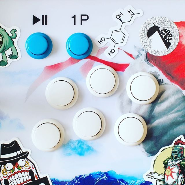 Our new #adrenaline #molecule stickers. They look good on anything! Just USD 3 for 5 #stickers  shipping. Find them at moleculestore.com  #chemistry  #science #orgo #staynerdy #readyplayerone #gaming #arcade #chemie #moleculeoftheday #chemie #adrenalin #adrenalinjunkie