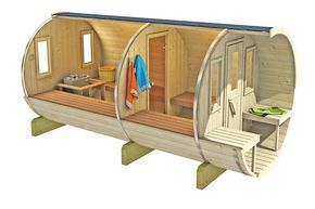 Saunafass 400 von Gartenhaus-xxl.com