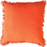 Found it at Temple & Webster - Tangello Lunatic Fringe Cushion