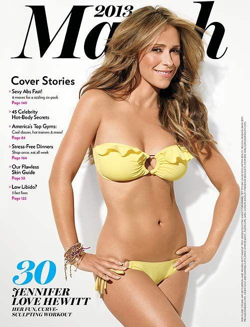 Jennifer Love Hewitt Covers #Shape Magazine - March 2013