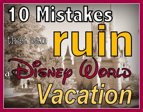 ways to avoid messing up a Disney vacation #disney #disneykids #disneyvacation #disneyside