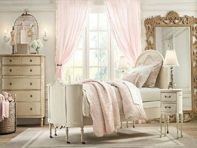 87 best Shabby Chic Bedrooms images on Pinterest | Shabby chic ...