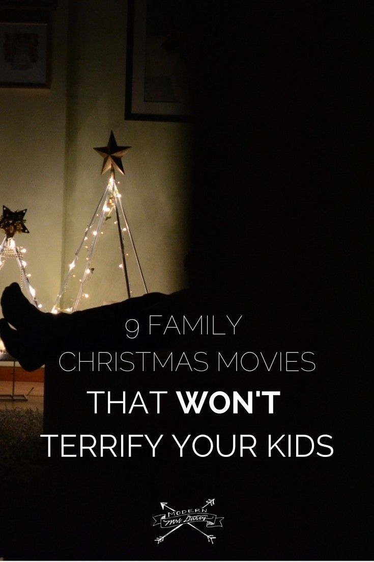 """My kids are super-sensitive to what they see on the screen. That takes many of the """"classic"""" Christmas movies off the table."""