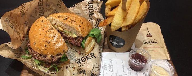 L'Artisan du Burger : le burger healthy le plus sexy de la capitale