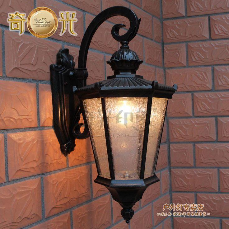 Настенный светильник мода ананас настенный светильник открытый водонепроницаемый бра двор беседка лампы для дома современный стены бра 8 Вт E27