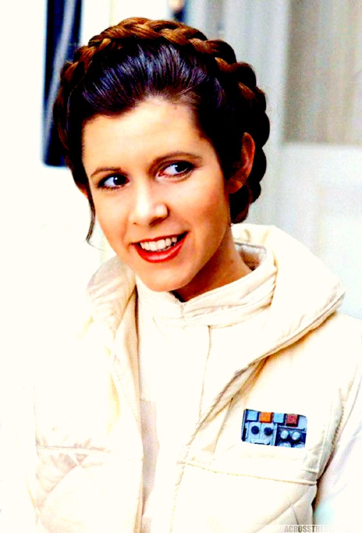 Princess Leia: Why, you stuck up, half-witted, scruffy-looking