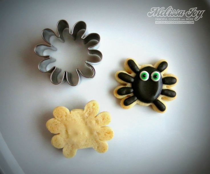 how to make a mini spider cookie