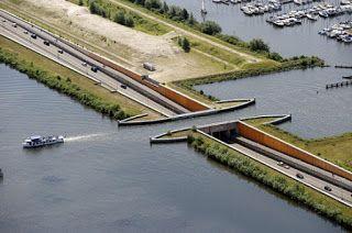Pregopontocom Tudo: Ponte submarina na Holanda rompe todas as leis da física ...