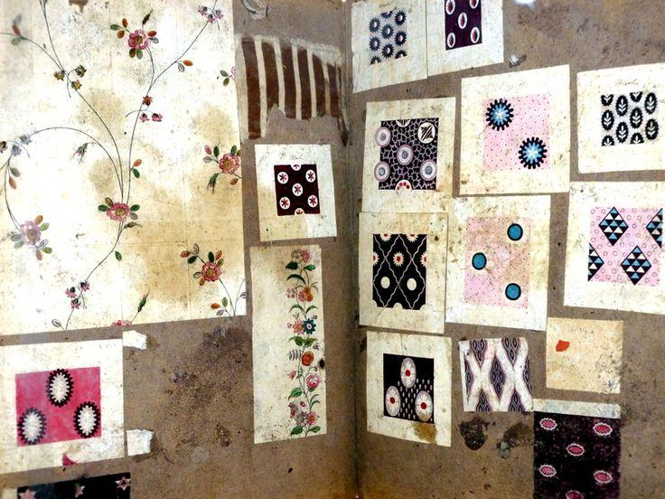 Inspiration: Vintage Fabric Sample Book
