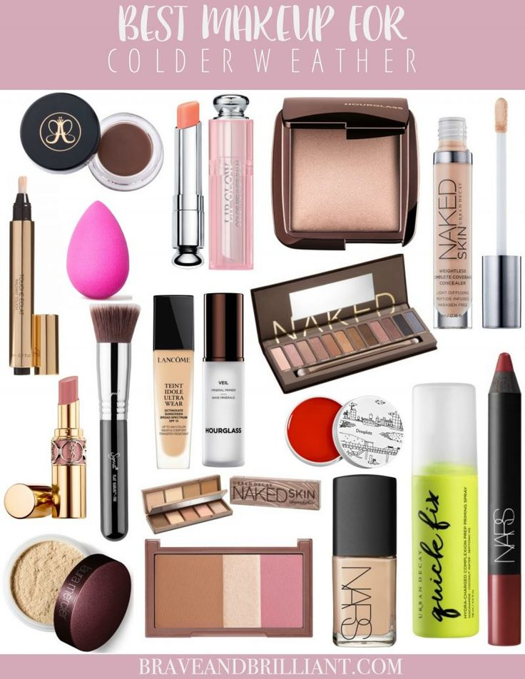 Cold weather got you down? Don't worry! I got you covered with the best makeup for colder weather! Be sure to pin it for later!