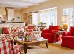 cozy conversation area
