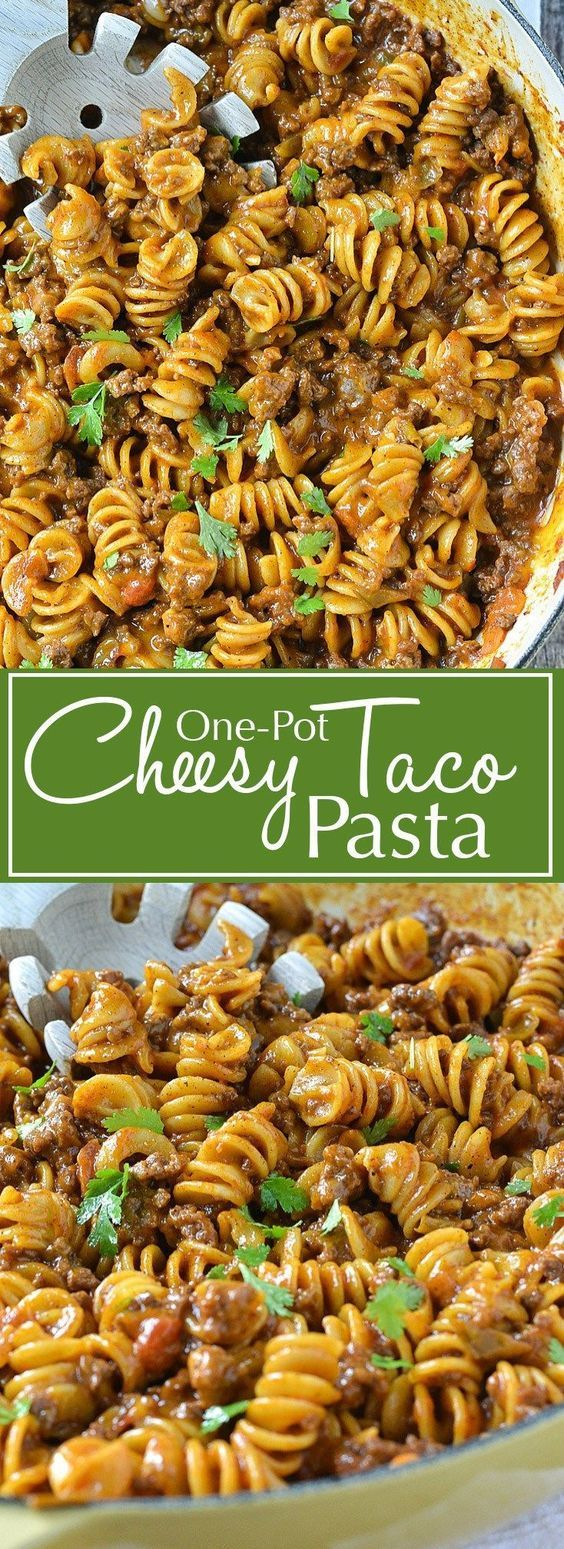 In search for healthy recipes for one? Check out this delicious One-Pot Cheese Taco Pasta. . http://anavitaskincare.com   Looking for healthy recipes for easy lunch? Tyr this One-Pot Cheesy Taco Pasta not only is it easy to make it's also very delicious. >> http://anavitaskincare.com