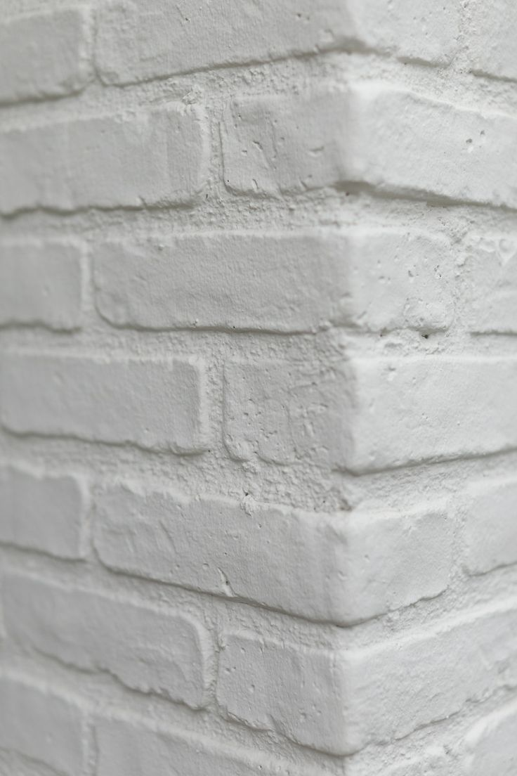 Seaward Road - brick veneer with white grout slurry and paint, photo credit, nicholasgingold.com