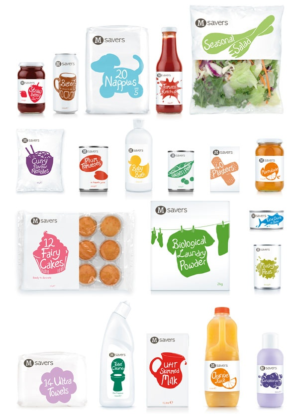 The re-branding of Morrisons' entry range by design agency Coley Porter Bell, is one I would love to see at a supermarket near me