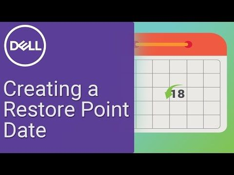 Earlier I posted about how to restore your system using Windows 10 Restore Points.  Here is a video on how to create the Restore Points themselves.