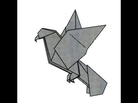 Origami bald eagle by John Montroll