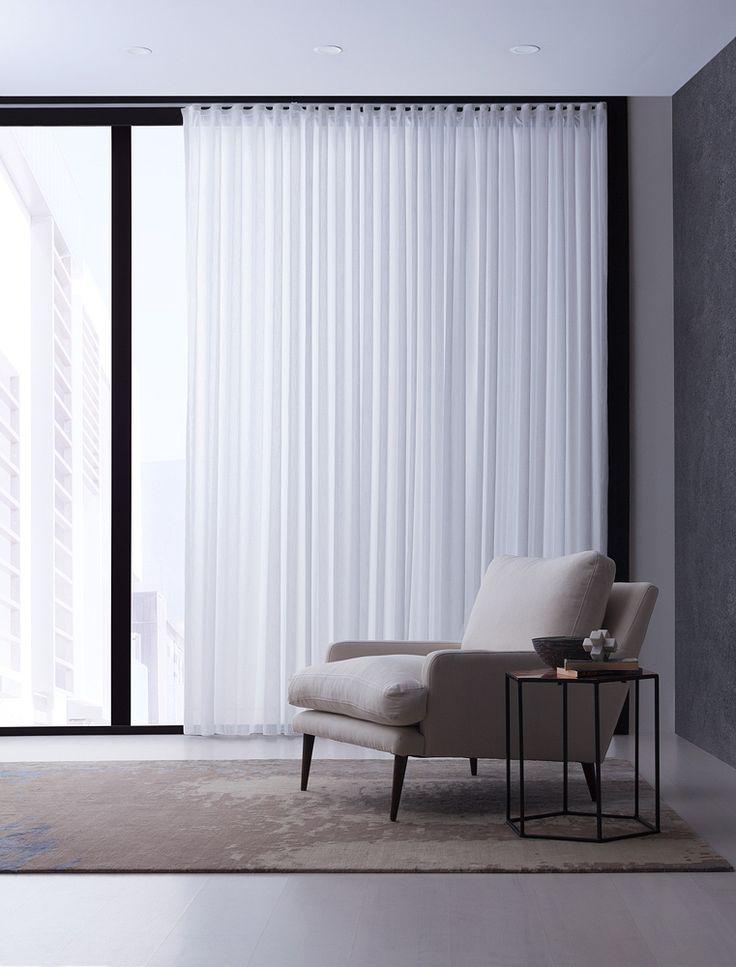 Capri Sheer Drapery Fabric By Charles Parsons Interiors