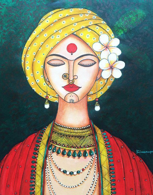 Champa girl/ Mona Biswarupa/Collectiivitea