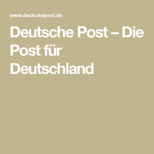 Deutsche Post – Die Post für Deutschland