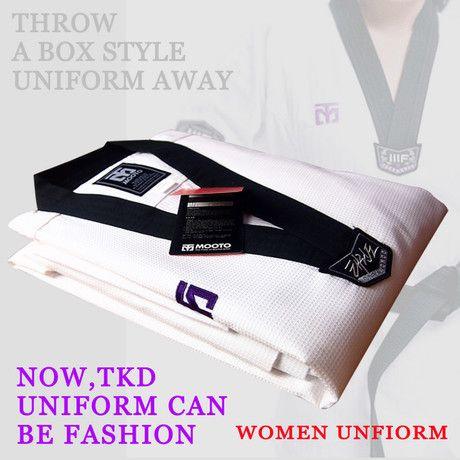 Women Taekwondo Dobok WTF Uniform Comfortable Kick Boxing Training Suit Karate Clothing for Girl Female Sport ProfessionClothes