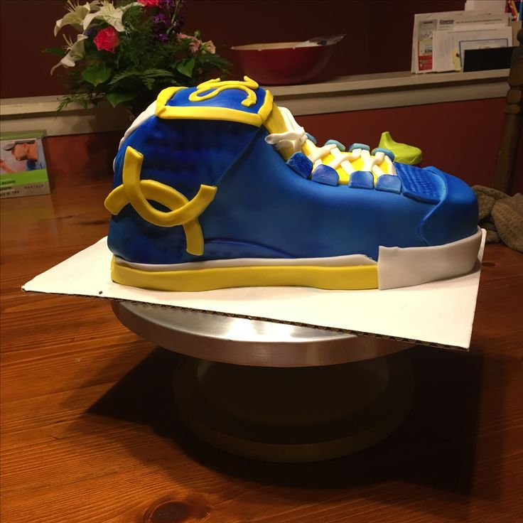 Steph Curry Shoe Cake Golden State Warriors My Cakes
