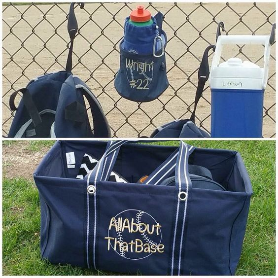 Large Utility Tote, Oh Snap Bin, Bring A Bottle Thermal
