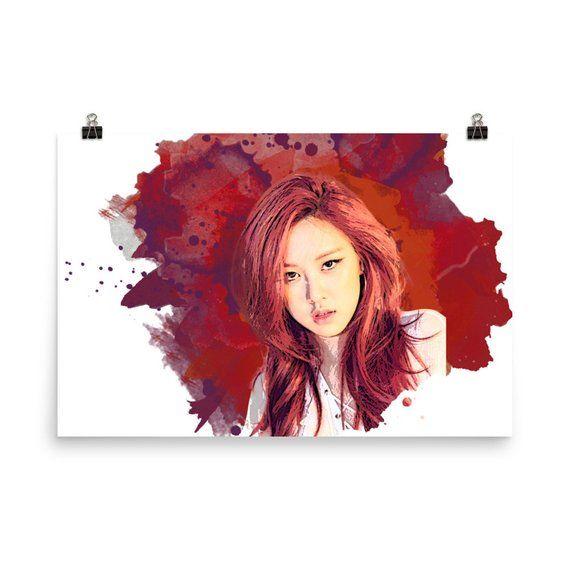 Lisa BlackPink Custom Silk Poster Wall Decor