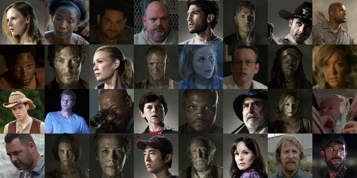 where can i meet the cast of walking dead 2015 game