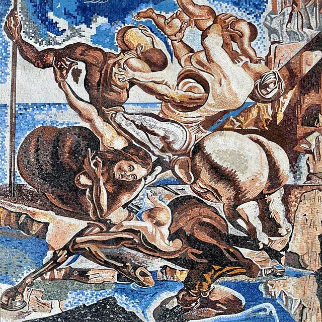 Family of Marsupial Centaurs by Salavador Dali by Phoenician Arts, via Flickr