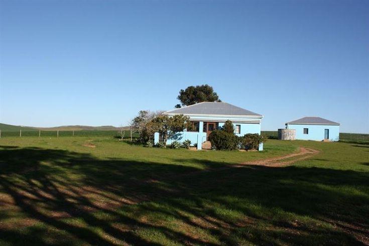Die Blouhuis in Malgas
