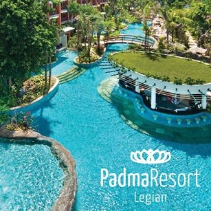 Have a look at these excellent accommodation only offers for the Padma Resort in Legian plus a Padma Resort Ubud…