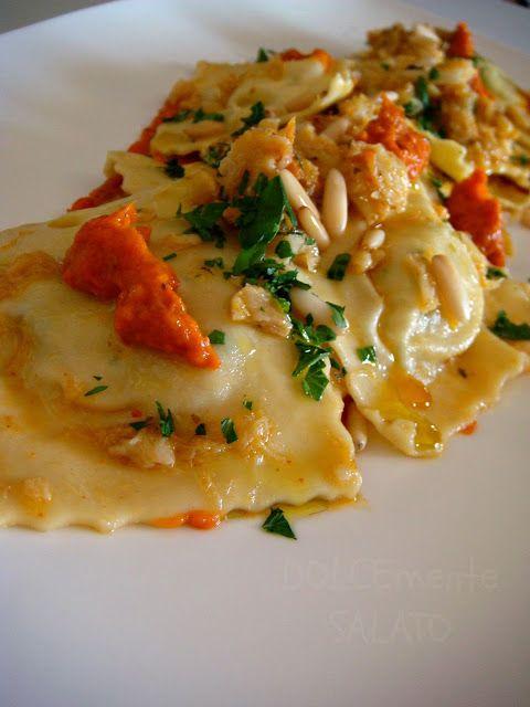 DOLCEmente SALATO: Ravioli con ripieno di patate e baccalà
