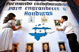 Honduras, Nación y Mundo: Lunes Cívico en Honduras